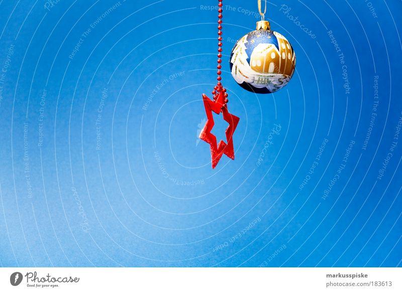 weihnachts stern Weihnachten & Advent Baum Stil Lifestyle Kunst Feste & Feiern Design Dekoration & Verzierung Stern (Symbol) Zeichen Schnur Jahreszeiten Kugel