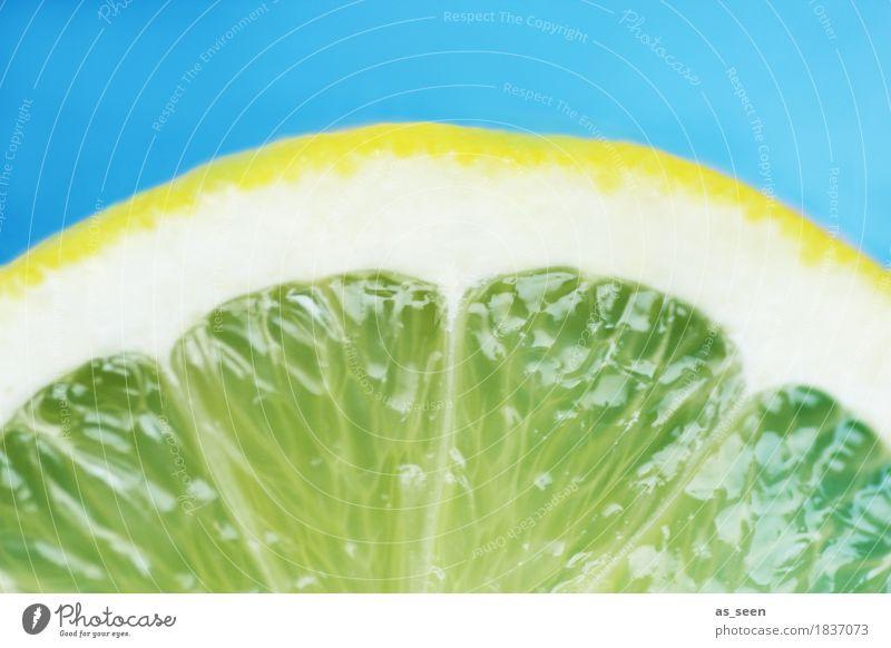 Hello fresh! blau Farbe Sommer weiß Sonne gelb Leben Gesundheit Lebensmittel Design Frucht Ernährung frisch Getränk türkis Duft