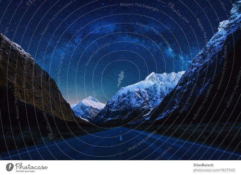 Milchstraße Natur Ferien & Urlaub & Reisen schön Landschaft Einsamkeit Freude Berge u. Gebirge Reisefotografie Leben Glück Stimmung Felsen frei ästhetisch