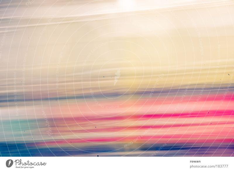 farbklecks blau rot gelb Bewegung abstrakt Linie rosa Hintergrundbild Experiment Unschärfe Streifen Bewegungsunschärfe Grafik u. Illustration chaotisch