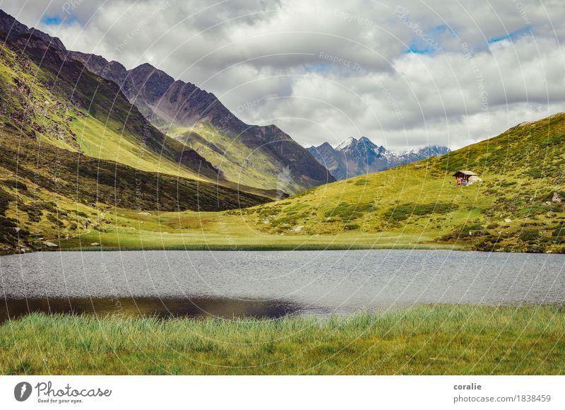 Heidiland Felsen Alpen Berge u. Gebirge Gipfel Schneebedeckte Gipfel Gletscher Heimweh Fernweh Berghütte Südtirol Gebirgssee Ödland Menschenleer Naturwunder