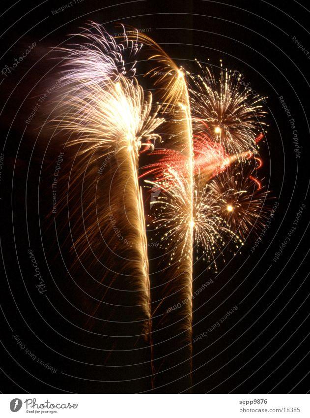 Fireworks Langzeitbelichtung Feuerwerk Feste & Feiern Brand