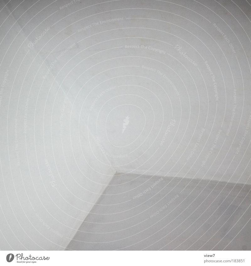 Sugg. Schwarzweißfoto Innenaufnahme Detailaufnahme Experiment abstrakt Menschenleer Textfreiraum oben Starke Tiefenschärfe Mauer Wand Fassade Stein Beton Linie