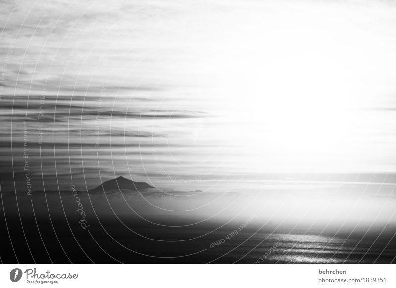 weißheit | wenn einer eine reise tut... Himmel Landschaft Wolken Küste Nebel Wellen genießen