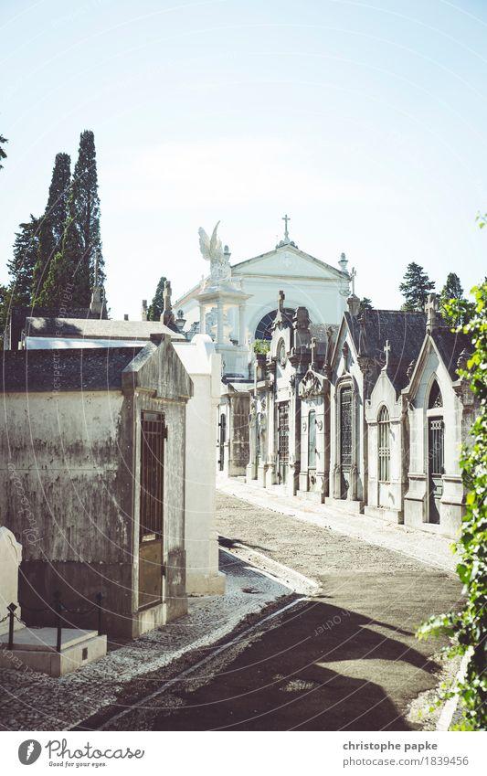 Friedhof der Freuden Ferien & Urlaub & Reisen Ausflug Sightseeing Städtereise Sommer Sommerurlaub Architektur Lissabon Portugal Stadt Hauptstadt Stadtrand