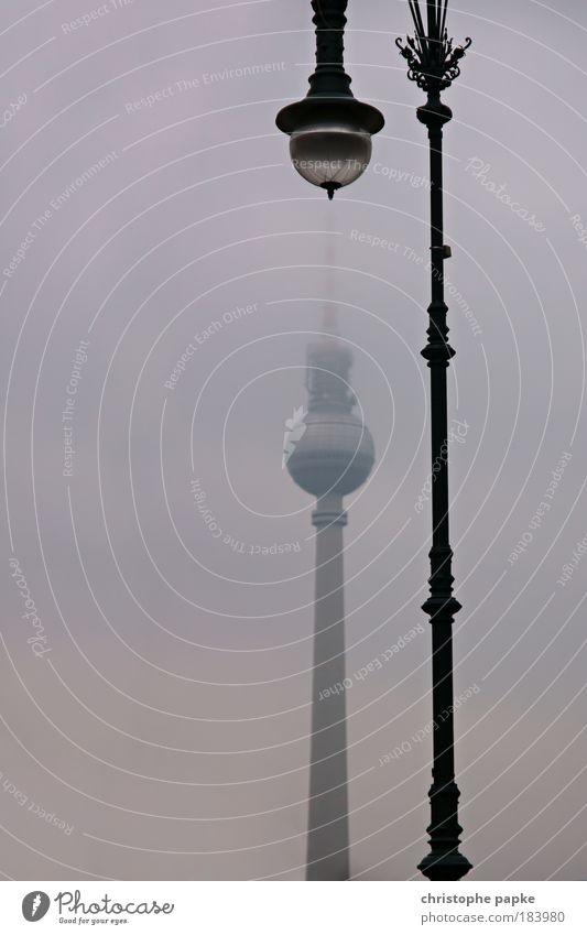 Spitzentreffen Farbfoto Gedeckte Farben Außenaufnahme Menschenleer Textfreiraum links Tag Dämmerung Silhouette Froschperspektive Berlin Stadt Hauptstadt