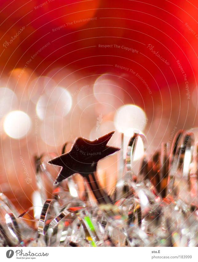 * Weihnachten & Advent rot Ferien & Urlaub & Reisen Freude hell Feste & Feiern glänzend warten Stern Fröhlichkeit Stern (Symbol) Hoffnung