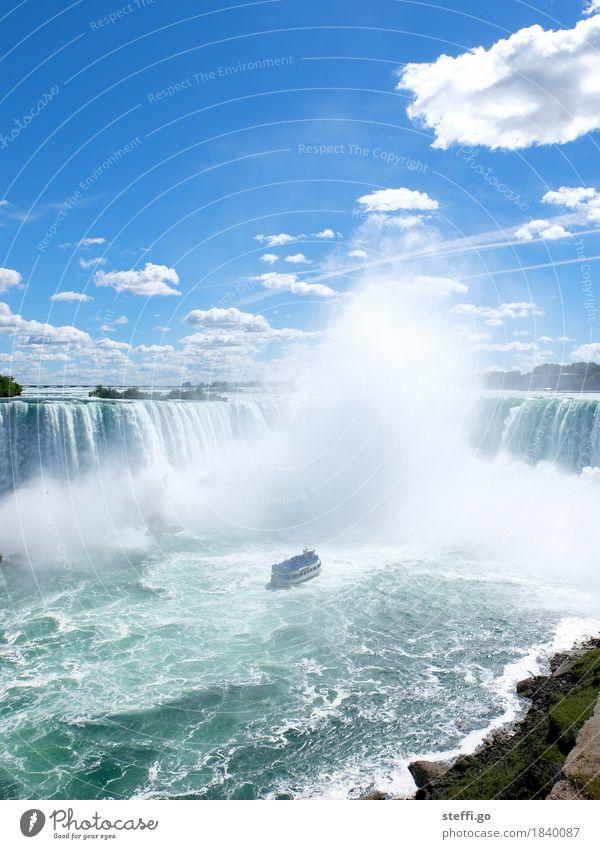 kleine Dusche gefällig? Natur Ferien & Urlaub & Reisen Sommer Wasser Sonne Landschaft Ferne Umwelt außergewöhnlich Freiheit Tourismus Ausflug groß nass
