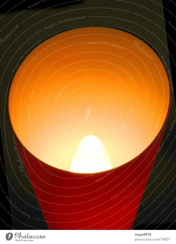 Lampe rot Licht Häusliches Leben Red Light