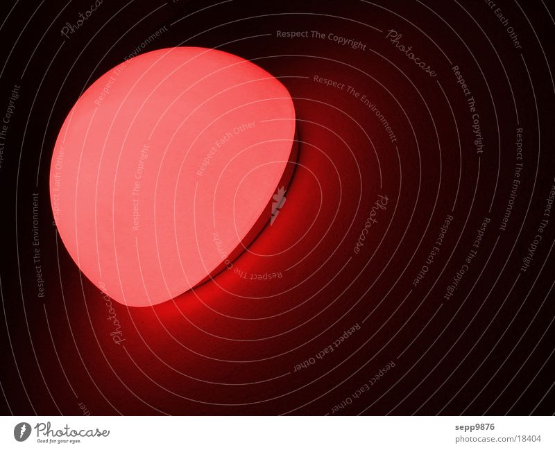 Red light Lampe Häusliches Leben Red Light Ampel Abend