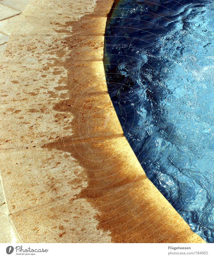 Am Rande der Wüste Wasser Ferien & Urlaub & Reisen Sommer Erholung Küste Wellen Zufriedenheit Kraft nass Erfolg Klima außergewöhnlich Lifestyle Schwimmbad