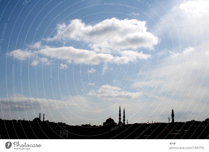 n ll blau Ferien & Urlaub & Reisen Ferne Gebäude Religion & Glaube Architektur Tourismus Kultur fantastisch Skyline Bauwerk Stadtzentrum exotisch Glaube