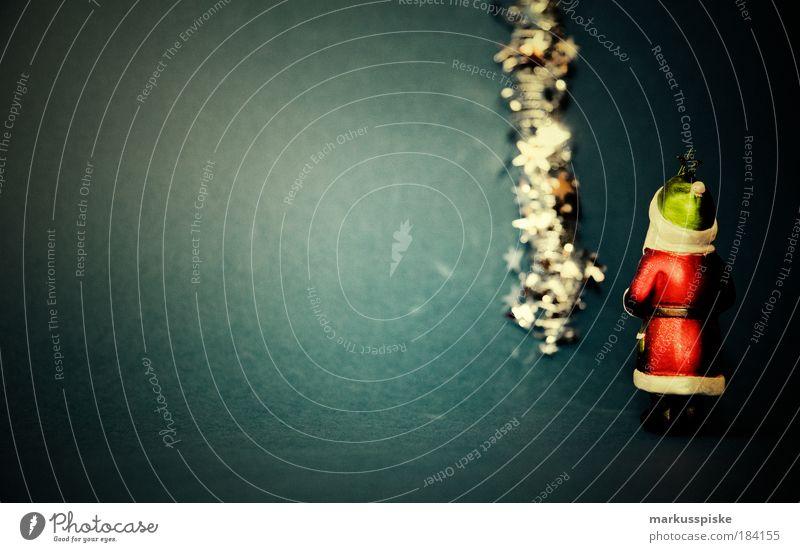 nikolaus Weihnachten & Advent dunkel Feste & Feiern elegant Design maskulin Lifestyle bedrohlich Dekoration & Verzierung leuchten Schnur geheimnisvoll Kugel