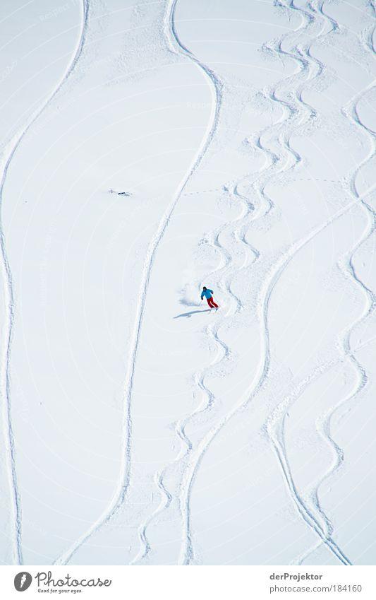 So werden Tapetenmuster getestet Mensch weiß Ferien & Urlaub & Reisen Winter Ferne Sport Schnee Freiheit Berge u. Gebirge Bewegung Freizeit & Hobby Ausflug Tourismus maskulin Skifahren Mut