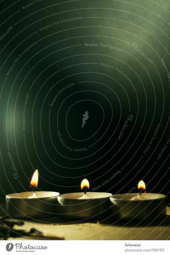 Miniheizung Weihnachten & Advent dunkel Wärme Freundschaft Feste & Feiern Zusammensein glänzend Fröhlichkeit Sicherheit Romantik Kerze Dekoration & Verzierung