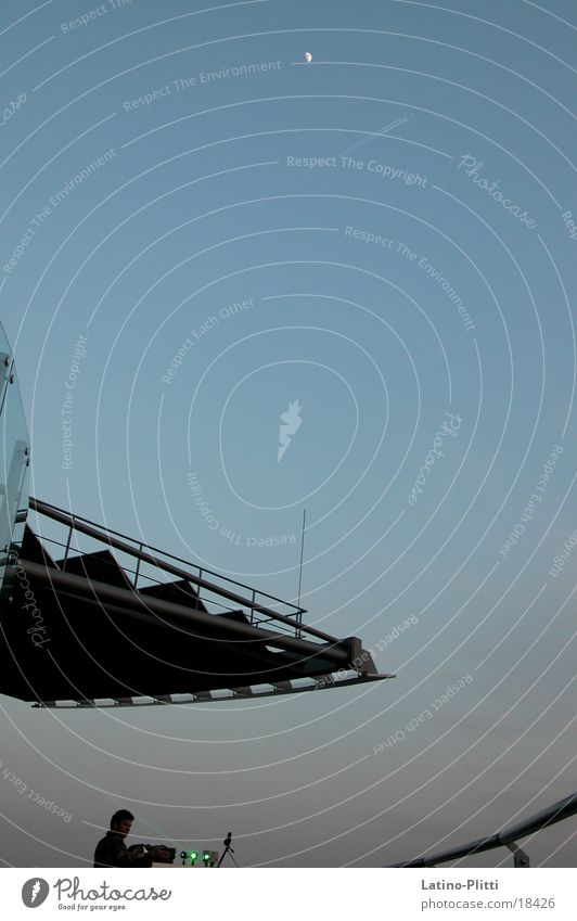 Laser+Moonrise Kunst Technik & Technologie Elektrisches Gerät