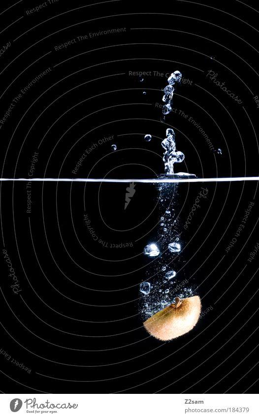 dive Farbfoto Studioaufnahme Unterwasseraufnahme Starke Tiefenschärfe Frucht Ernährung Stil Wasser Wassertropfen ästhetisch einfach elegant Flüssigkeit frisch