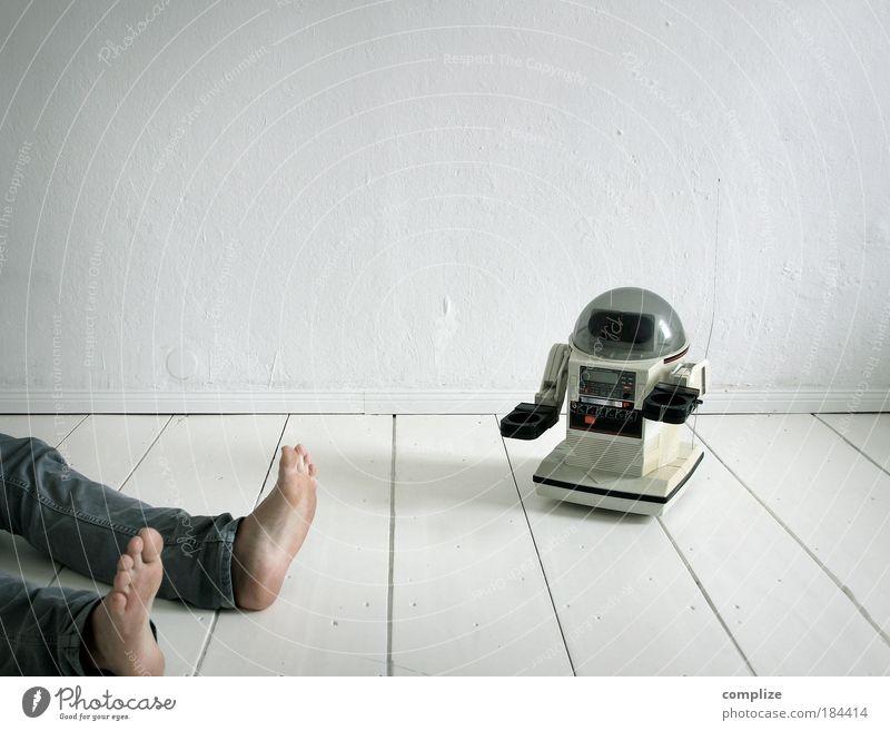 GZSZ Folge: 1984 Mensch Mann weiß Erwachsene Wand Spielen Spielzeug Mauer Beine träumen Fuß Wohnung liegen Design Beruf gefährlich