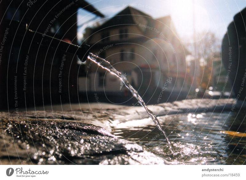 Brunnen Eden Wasser Sonne