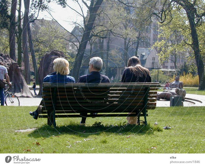ParkBank Parkbank Mensch Natur