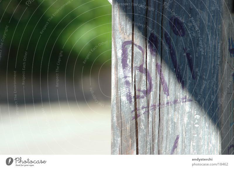 Bili was here Holz Balken Gestell