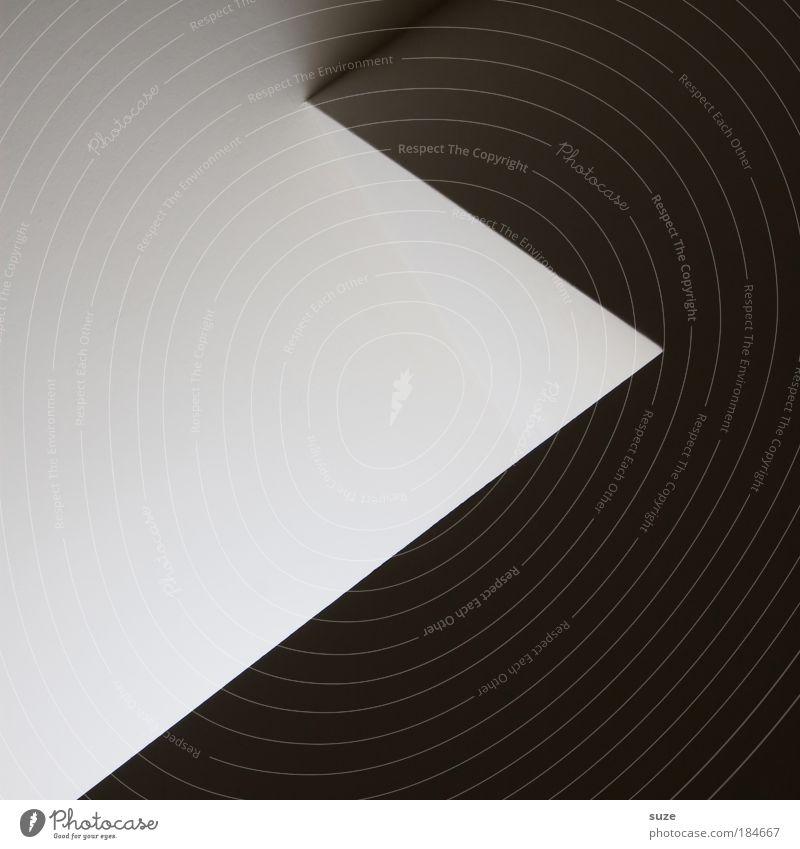 Gut & Böse weiß schwarz Wand Architektur grau Mauer Stein Stil Kunst Linie Fassade authentisch Design verrückt modern Schriftzeichen