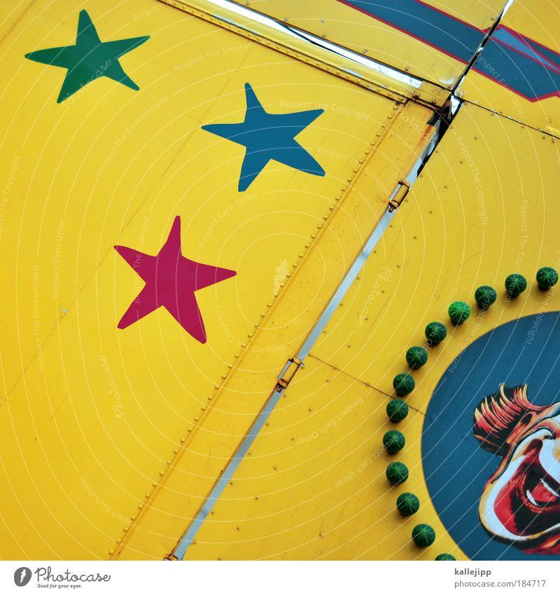 lachnummer Farbfoto mehrfarbig Außenaufnahme Tag Lifestyle Freude Glück Freizeit & Hobby Kunst Künstler Theater Zirkus Kultur Lächeln lachen leuchten lustig