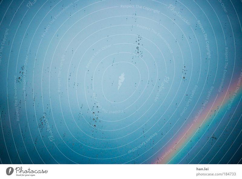 ! * 100 * ! Schöne Aussichten blau Erholung ruhig kalt Wärme Gefühle Regen Wetter Häusliches Leben Aussicht Wassertropfen Ecke Romantik Schönes Wetter Sehnsucht Fensterscheibe