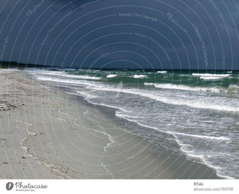 strom coming 1 Natur Wasser Meer grün blau Sommer Strand Wolken See Sand Landschaft Küste Wind Wetter Sturm Unwetter