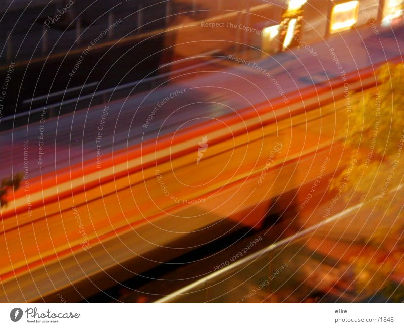 ubahn U-Bahn Fahrzeug Verkehr Straße Bewegung
