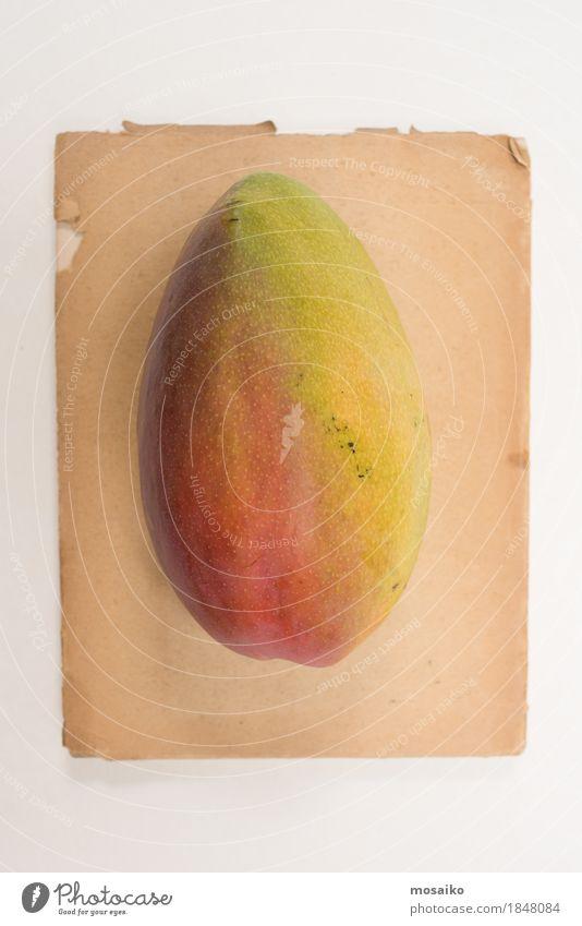 Mango-Frucht Natur Ferien & Urlaub & Reisen Farbe Stil Kunst Lebensmittel Mode Design Zufriedenheit Ernährung modern elegant ästhetisch Kreativität einzigartig