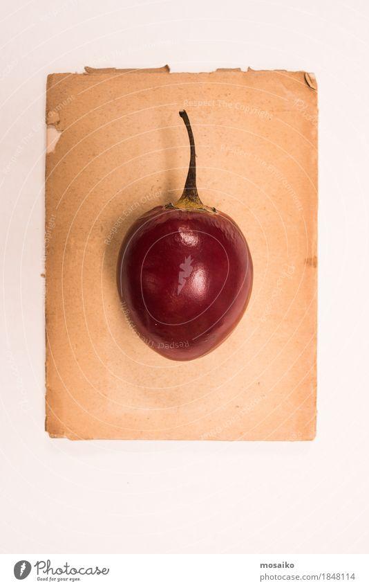 Tamarillo Lebensmittel Frucht Ernährung Bioprodukte Vegetarische Ernährung Saft Stil Design exotisch Kunst Natur Senior ästhetisch einzigartig elegant Farbe