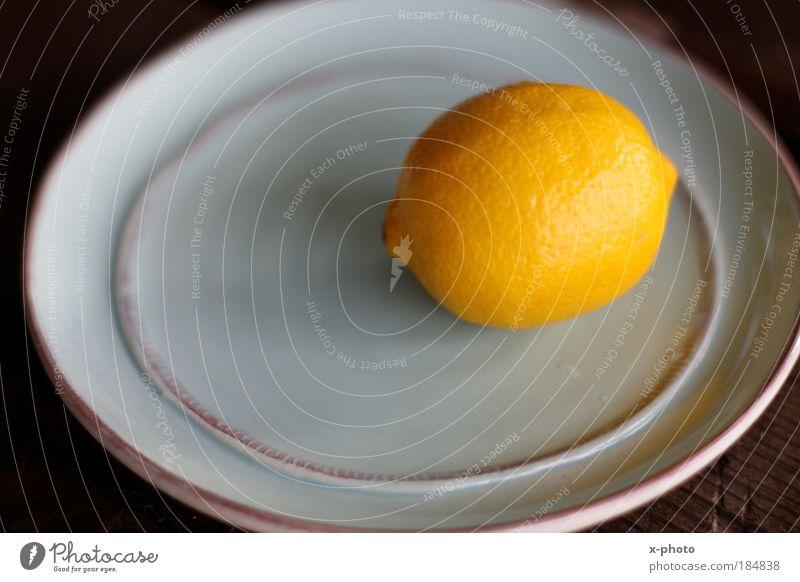 sauer. Ernährung gelb Lebensmittel Frucht Teller