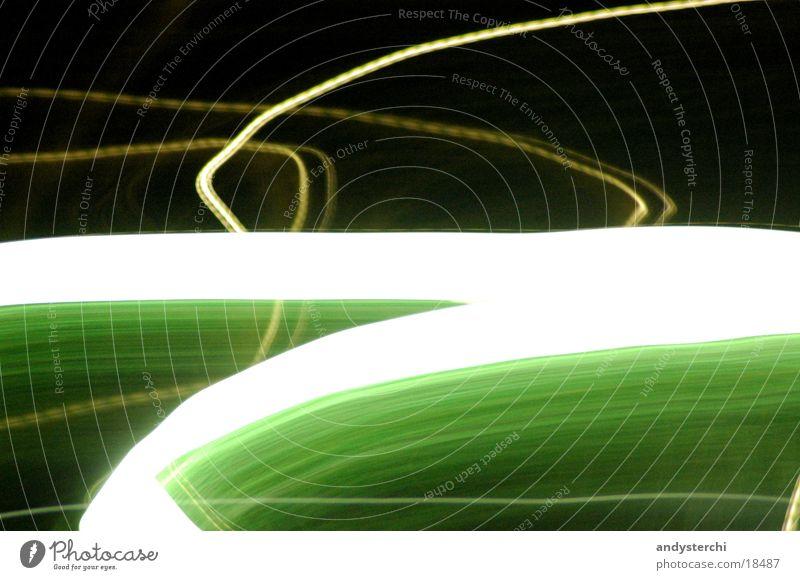 Flush Licht Nacht dunkel Linie Lampe Langzeitbelichtung