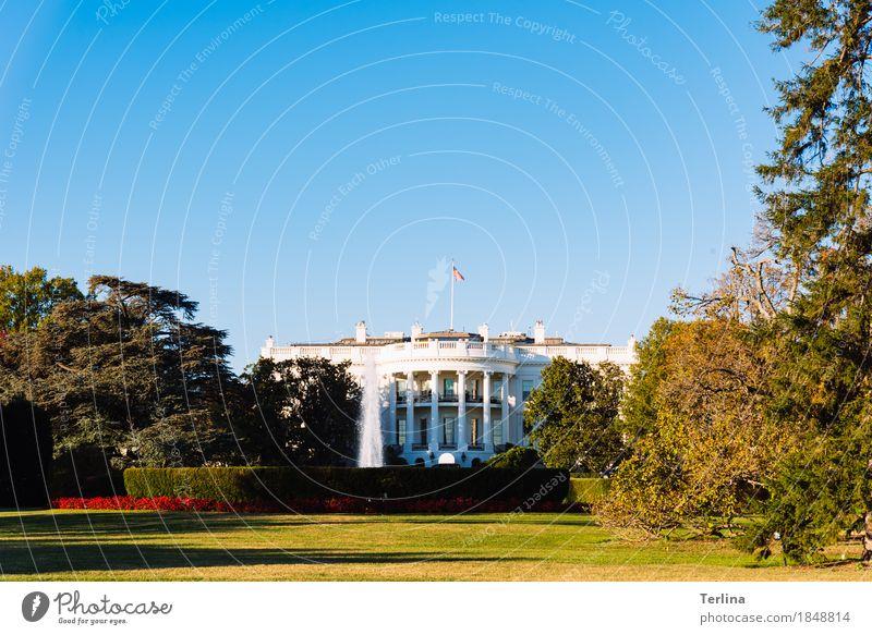 The White House Washington USA Sehenswürdigkeit Weißes Haus Blick stehen Aggression authentisch außergewöhnlich Bekanntheit Coolness gigantisch natürlich