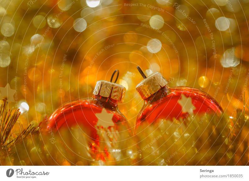 Funkeln Basteln Feste & Feiern Weihnachten & Advent Dekoration & Verzierung Kerze Glas Metall Kristalle Kugel glänzend leuchten Unschärfe Baumschmuck Baumkugeln