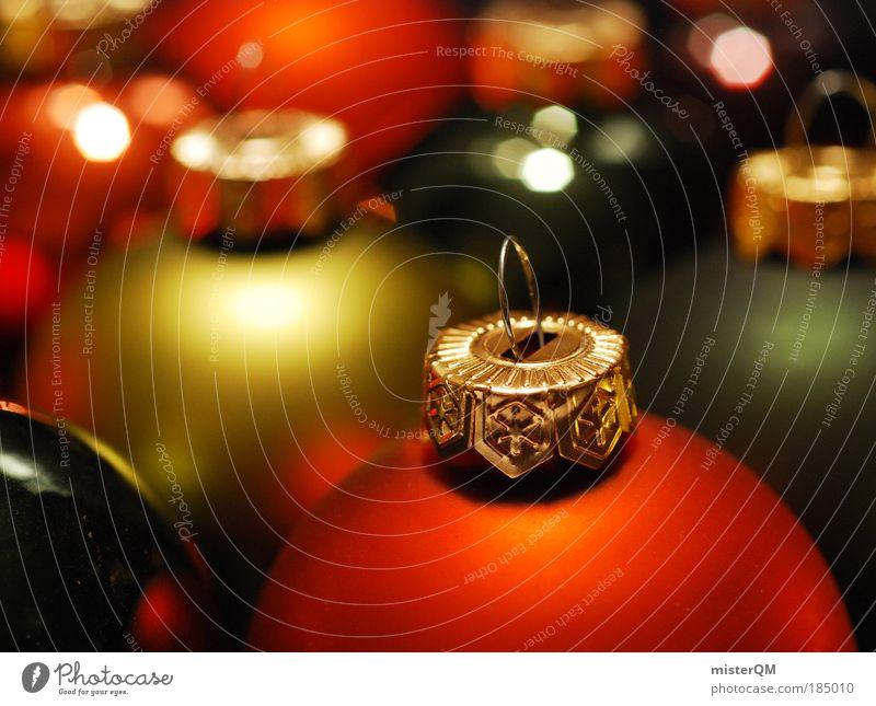 Weihnachtszeit. Weihnachten & Advent Winter Farbstoff Hintergrundbild Kunst Feste & Feiern Design orange glänzend Dekoration & Verzierung ästhetisch Kreativität