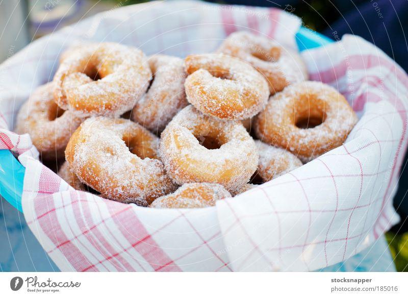 Lebensmittel Schalen & Schüsseln Zucker Becken Krapfen Köcher gebastelt