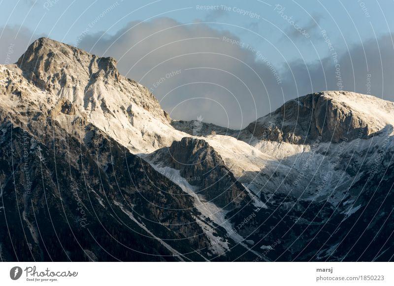 Guttenberghaus - hier geht es erst richtig los. Ferien & Urlaub & Reisen Tourismus Ausflug Abenteuer Ferne Winter Schnee Berge u. Gebirge wandern Haus Natur
