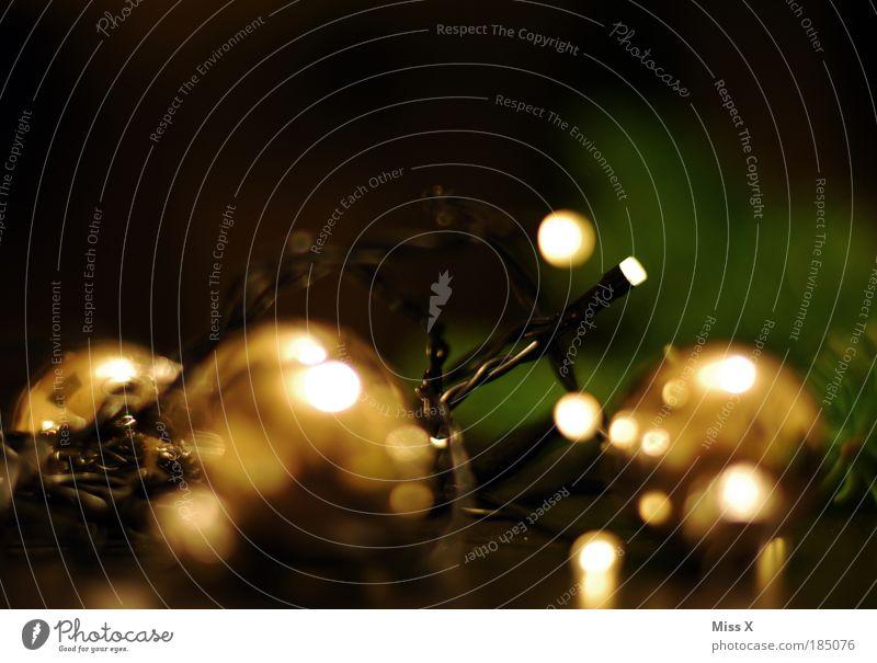 Weihnachtsrausch elegant Stil Basteln Nachtleben Feste & Feiern Winter Pflanze Baum Schmuck leuchten dunkel glänzend hell Kitsch Stimmung Vorfreude