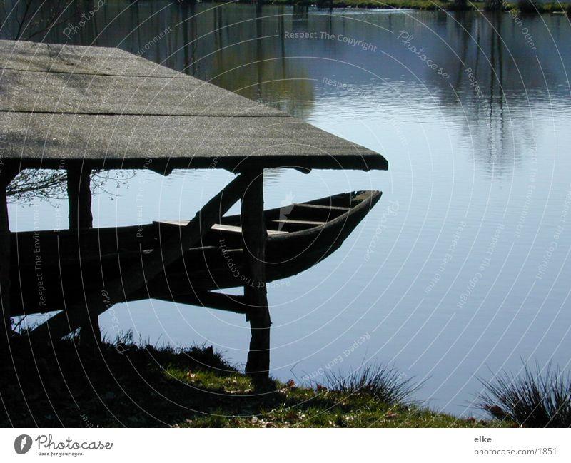 bootsee Natur See Wasserfahrzeug