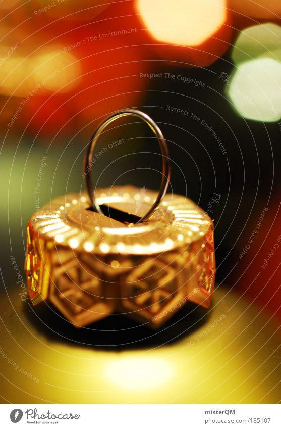 Alles glänzt. Weihnachten & Advent Winter Kunst Feste & Feiern glänzend Dekoration & Verzierung ästhetisch Gold Kultur Kitsch Tradition Kugel gemütlich heilig