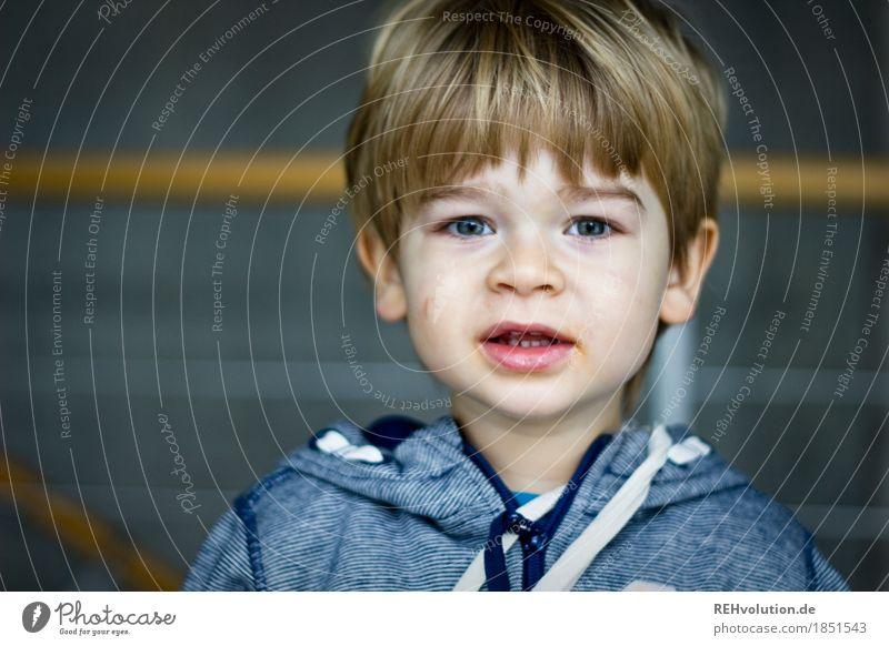 Wenn Papa kein Ticket mehr hat bin ich ein Student ... Mensch maskulin Kind Kleinkind Junge Kopf Haare & Frisuren Gesicht 1 1-3 Jahre Pullover Beton sprechen
