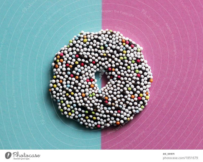 Zuckerkringel Lebensmittel Süßwaren Schokolade Schokokringel Zuckerstreusel Ernährung Lifestyle Stil Design Dekoration & Verzierung Feste & Feiern Karneval