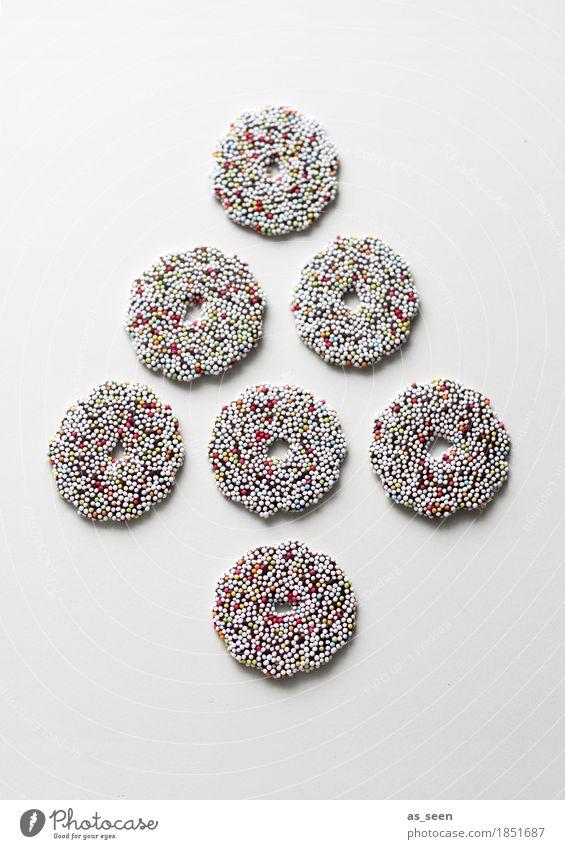 Chocolate Tree Weihnachten & Advent Farbe Freude Lifestyle Lebensmittel braun Design liegen Ernährung modern ästhetisch Kreativität Lebensfreude Kreis rund