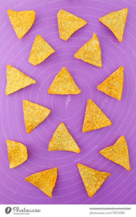 a wanna be Essen Lebensmittel Ernährung ästhetisch violett lecker Süßwaren Dessert Backwaren Diät Picknick Teigwaren Symmetrie Snack ungesund Dreieck