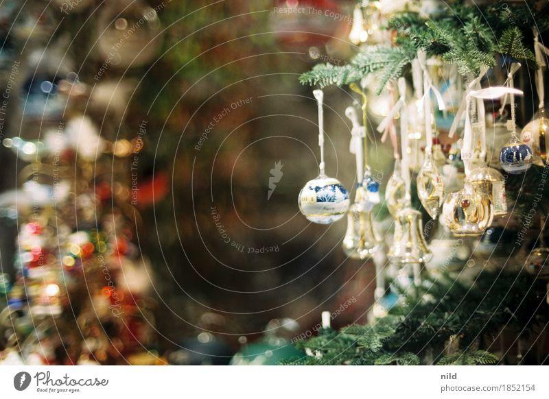 Weihnachtsschmuck kaufen Stil Wohnung Dekoration & Verzierung Feste & Feiern Weihnachten & Advent Kitsch Geborgenheit Weihnachtsbaum Christbaumkugel Unschärfe