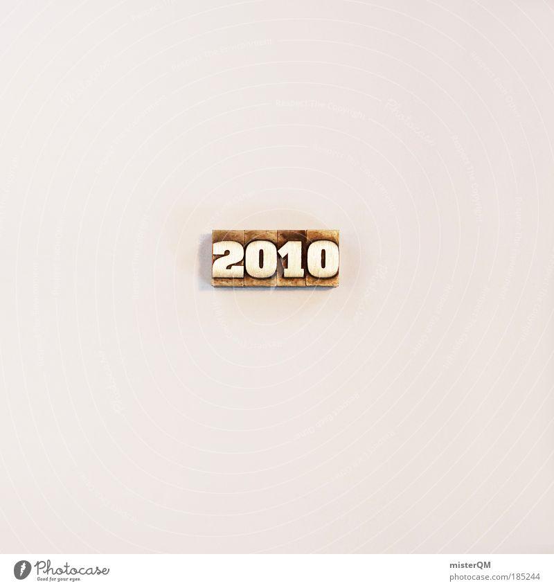 lucky number. Freisteller ästhetisch Schriftzeichen Ziffern & Zahlen Zeichen Vergangenheit Typographie Jahr dezent minimalistisch 2010 Jahreszahl Vor hellem Hintergrund
