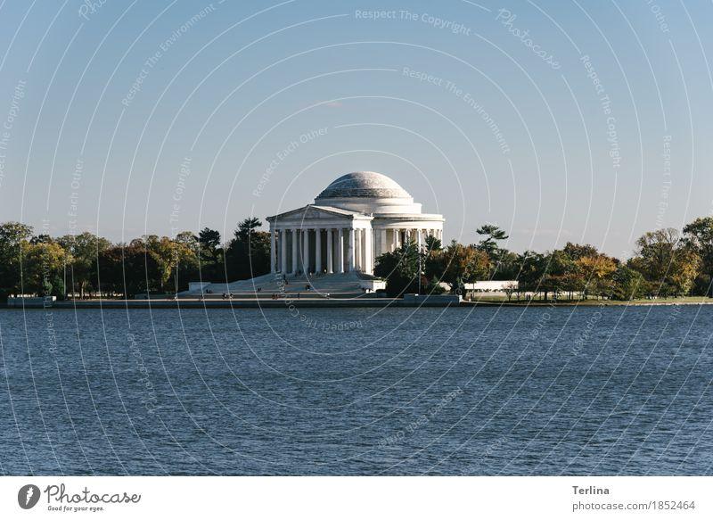 Thomas Jefferson Memorial Washington USA Sehenswürdigkeit Wahrzeichen Denkmal alt authentisch Bekanntheit Erfolg fantastisch groß gut historisch nachhaltig