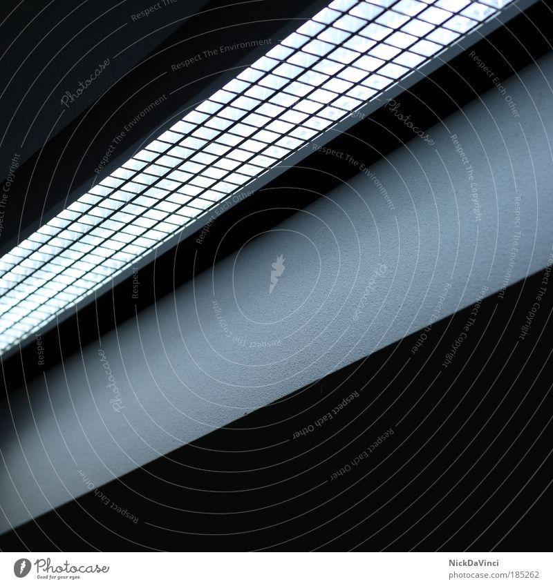 squares of light weiß blau schwarz Lampe kalt oben grau Linie hell glänzend Design Energie modern Energiewirtschaft Zukunft Technik & Technologie